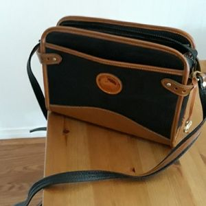 Dooney & Bourke black/brown leather bag